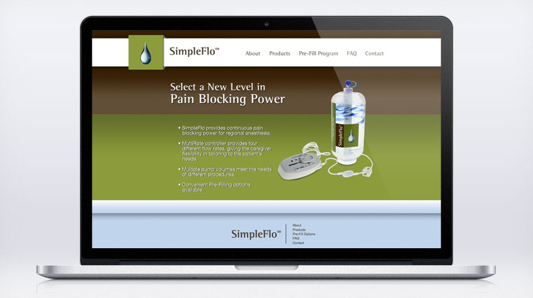 A companion site was also created. www.RegionalPainManagement.com